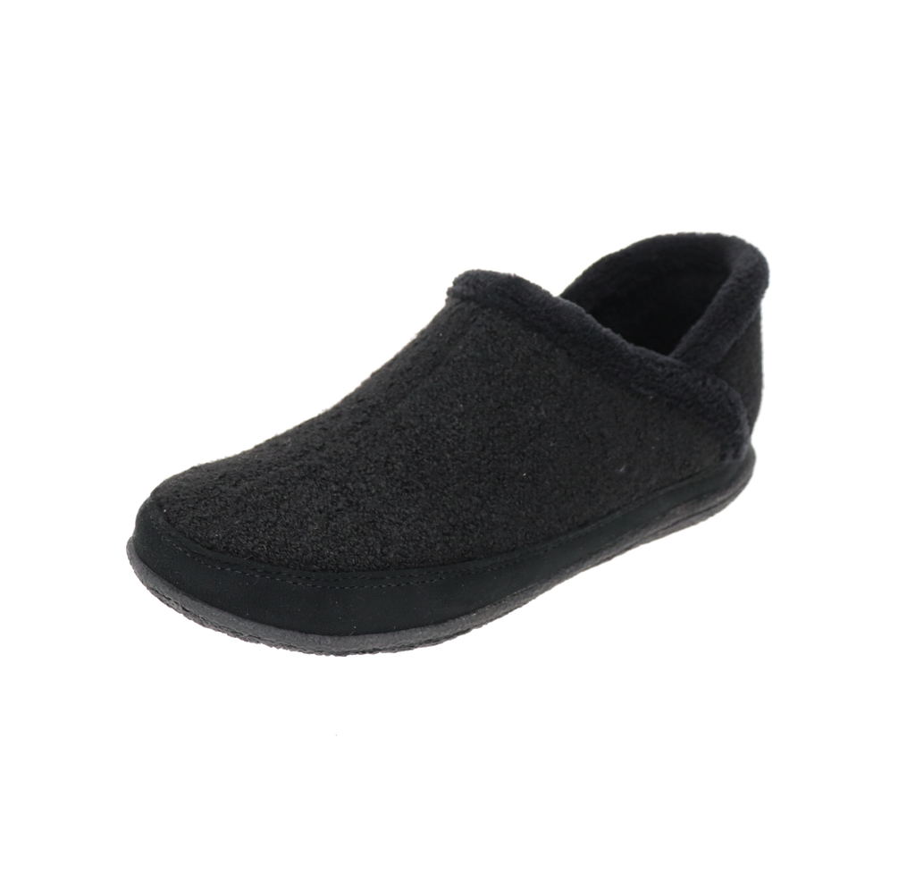 Riley Black Slipper