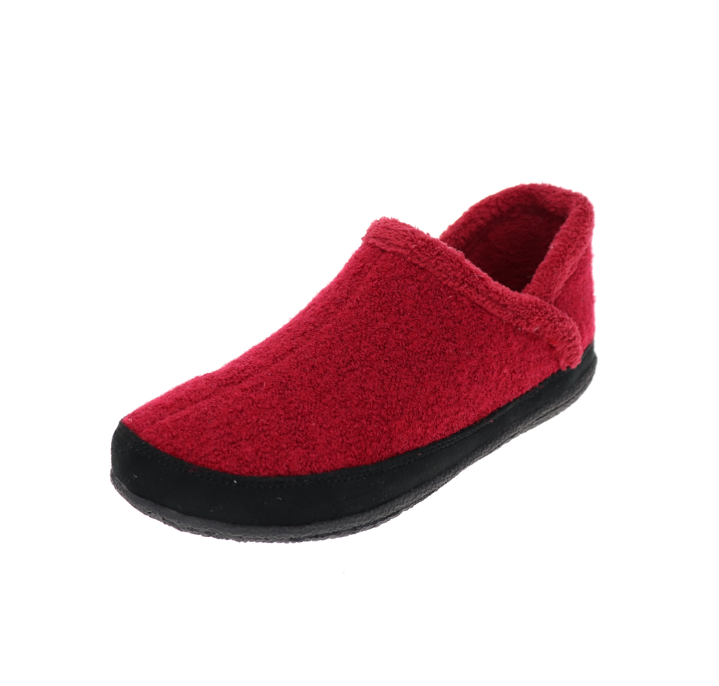 Riley Burgundy Slipper