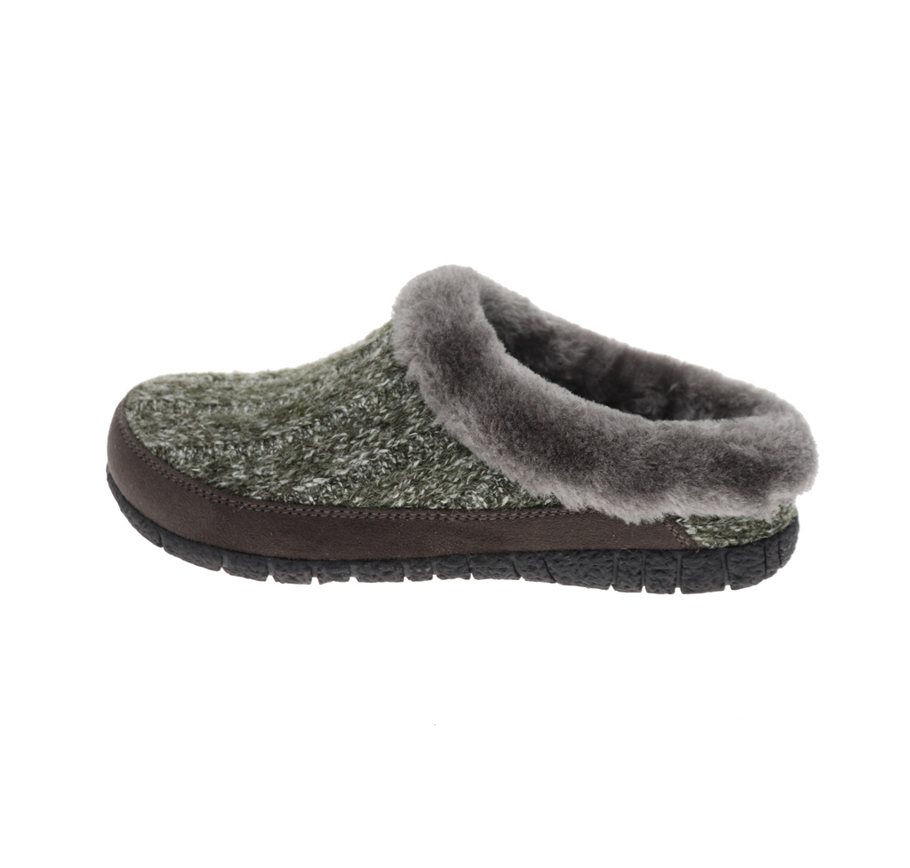 Stella Charcoal Slipper