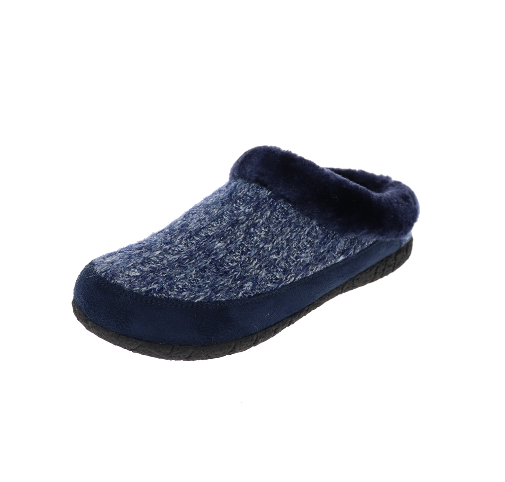 Stella Navy Slipper