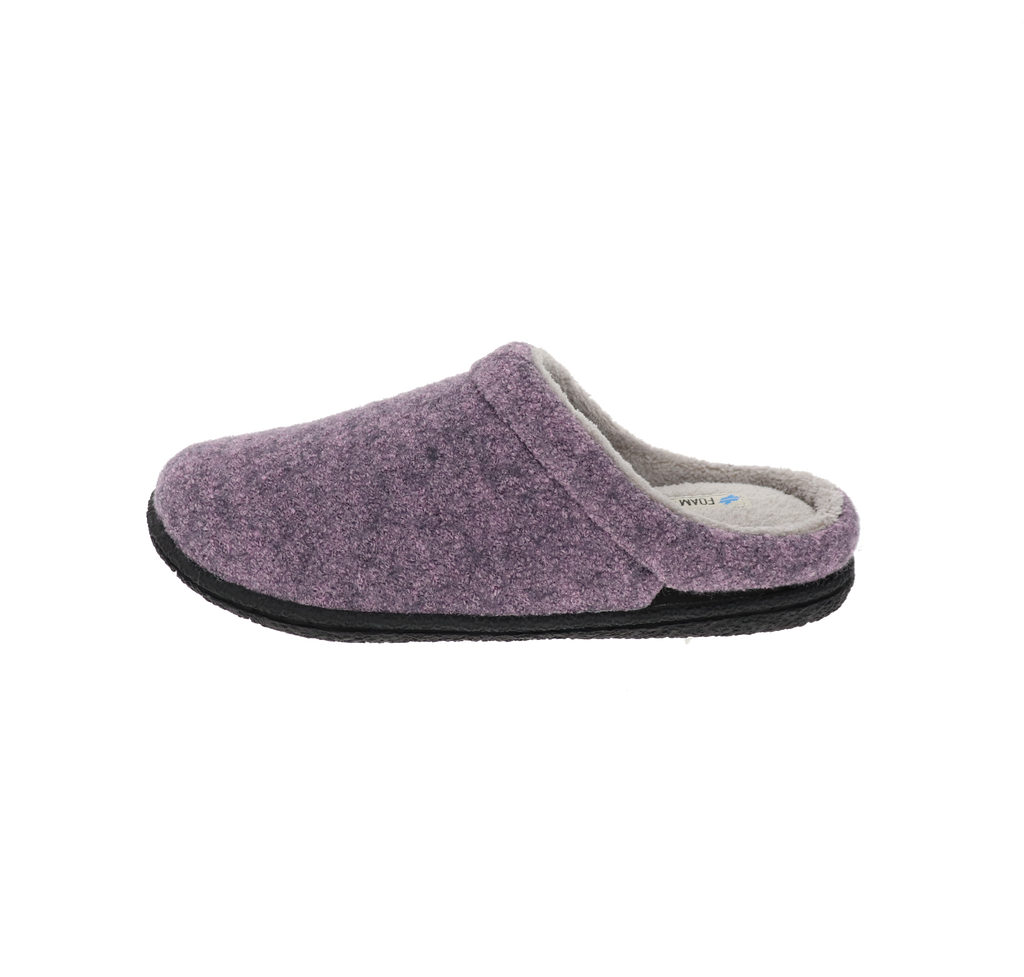 Whitney Purple Slipper