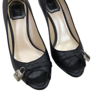 Christian Dior Open toe high heel shoes, Size 36. © Emmy Clothing Company Oy