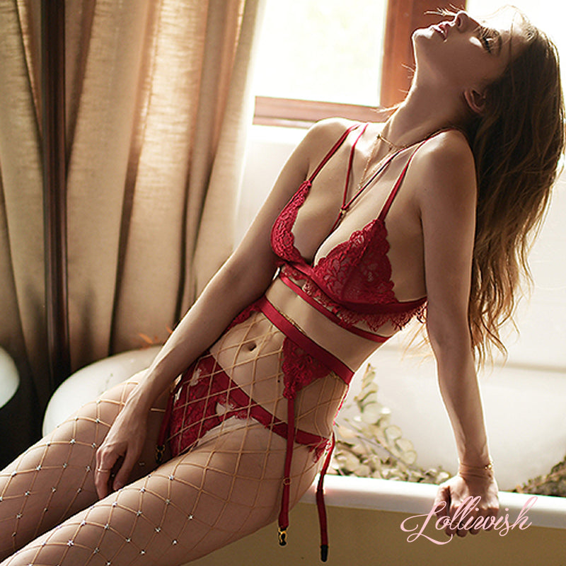 Beautiful Red Romance Set