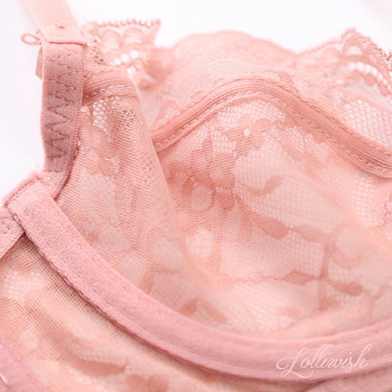 Princess Era Lace Bra Set (Available in 2 colors)