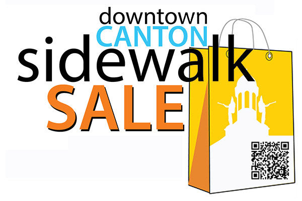 Downtown Canton Sidewalk Sale