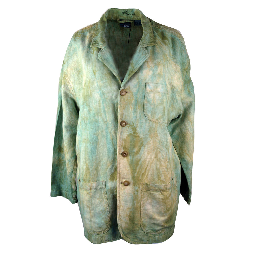 Jacket in soft blues and greens, Liz Wear