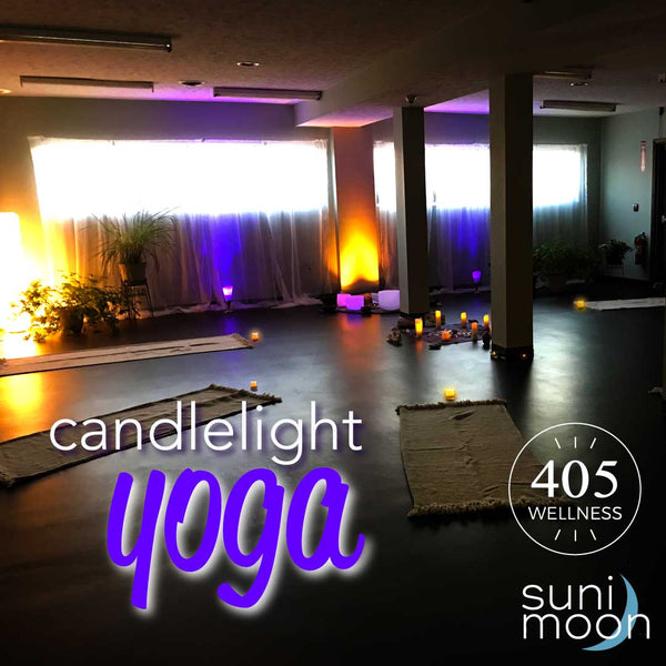 Candlelight yoga with sound