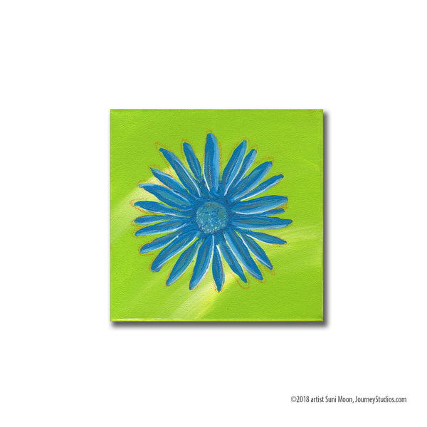 Flowers for andy- lemon-lime green