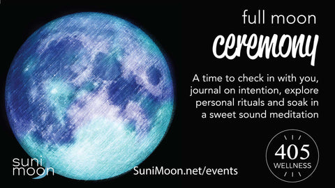 full moon sound ceremony- in person event