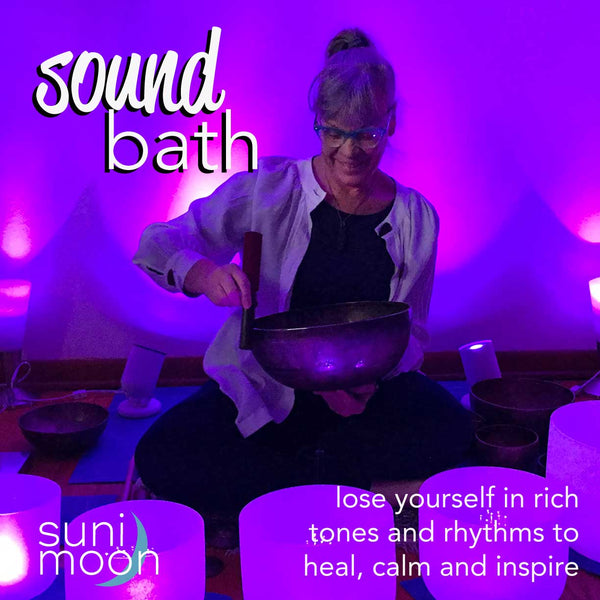 Sound bath- in person event