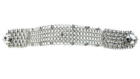 Liquid Metal Chain Mesh Bracelet