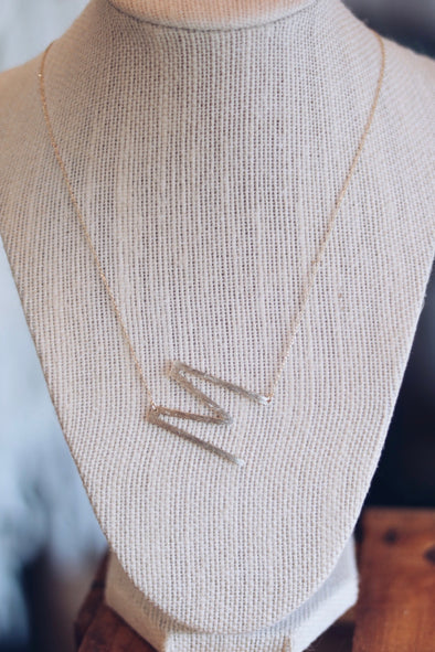 Initail Necklace (Gold)