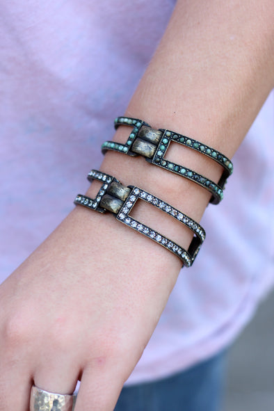 Rebel Double Bar Bracelet