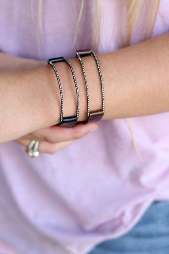 Rebel Dainty Bar Bracelet