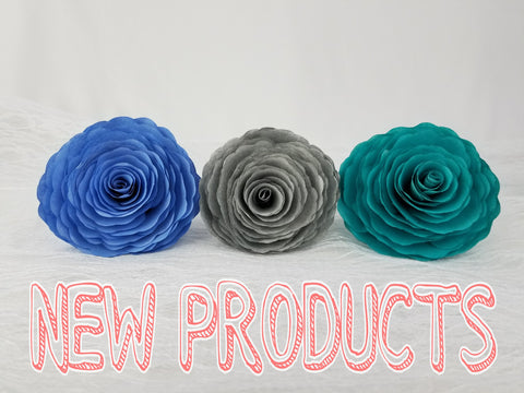New Products Paper Flowers Centertwine