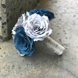 Blue and Grey Music Bouquet