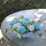 Wedding Table Centerpiece using Paper Roses - Colors Are Customizable