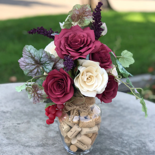 Vinyard Themed Arrangement