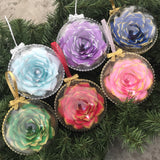 Christmas Ornament - Personalization available - Color choices available