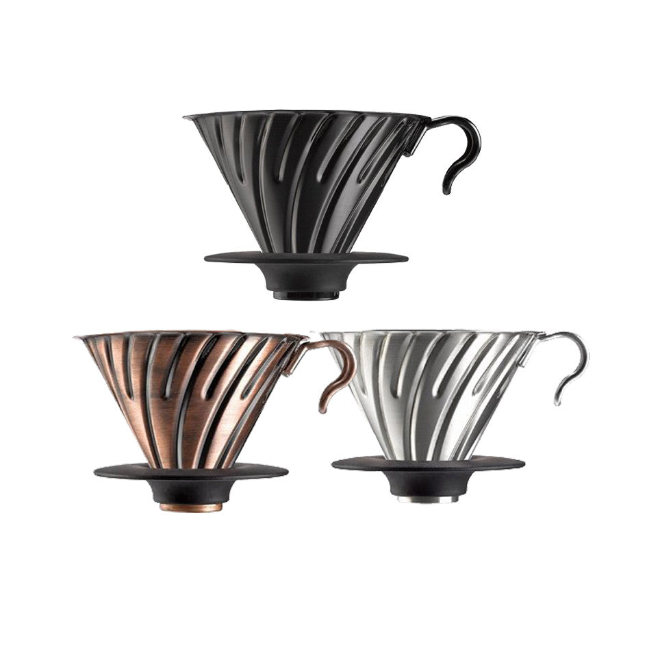 V60 dripper metal black 02