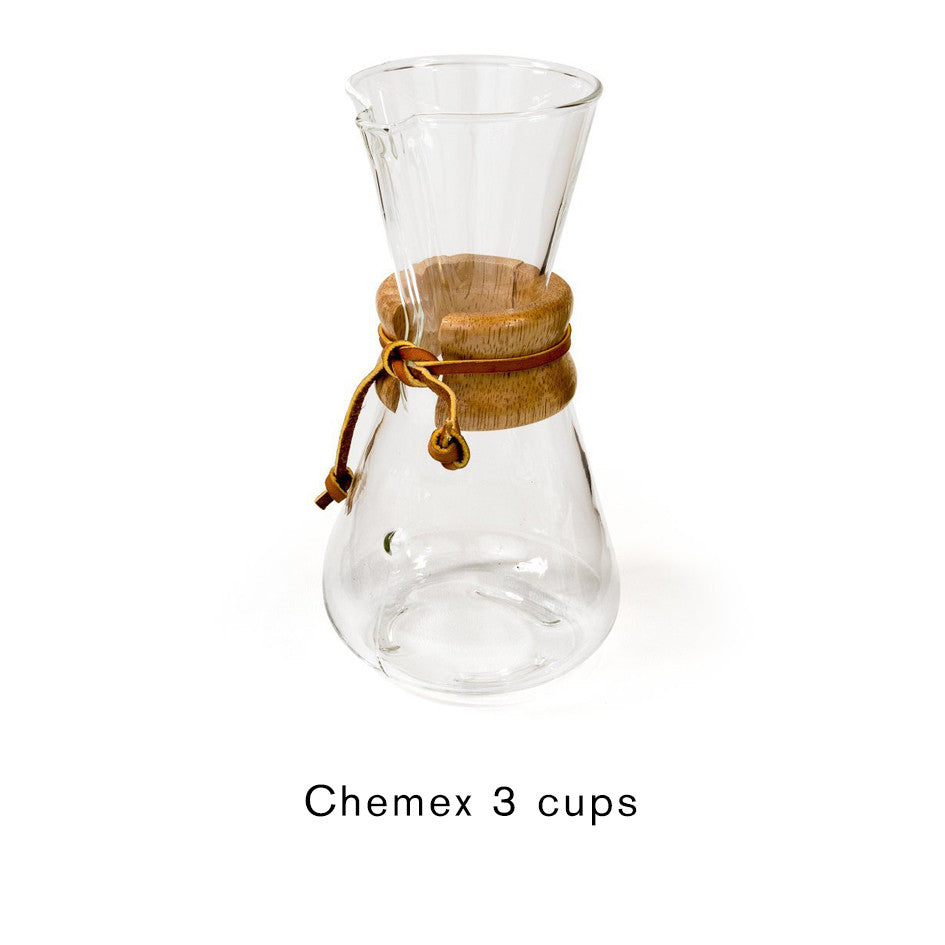 Chemex 3 or 6 cups