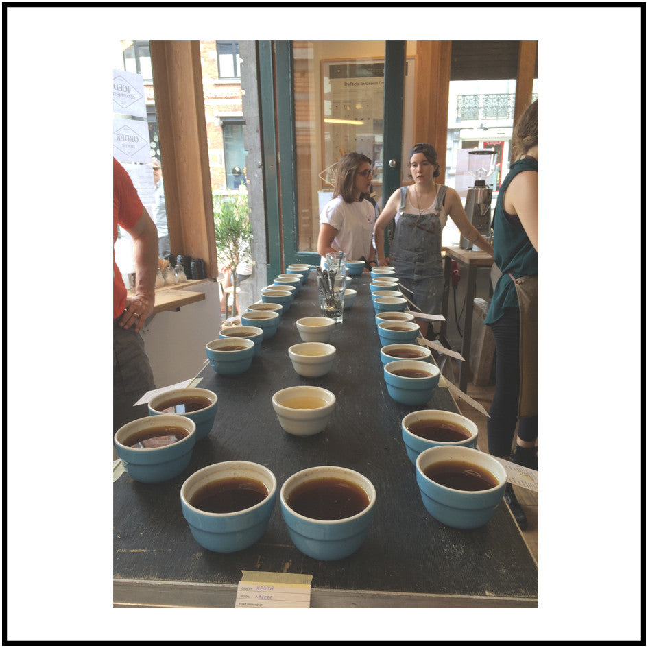 Coffee Cupping Approach