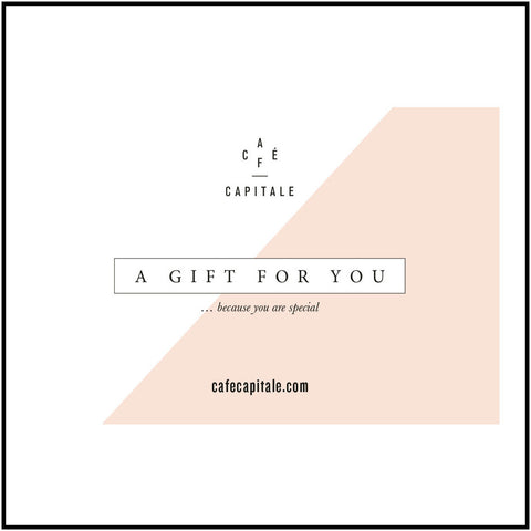 A Gift Card: cupping, workshop, training