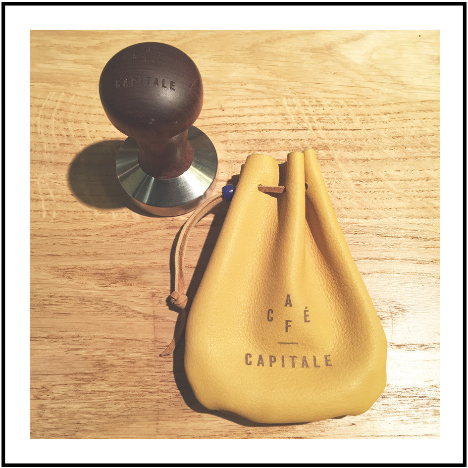 Café Capitale Tamper bag