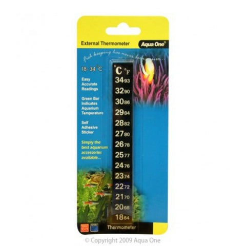 Thermometer in packaging