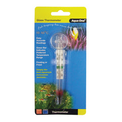 Aqua One Glass Thermometer