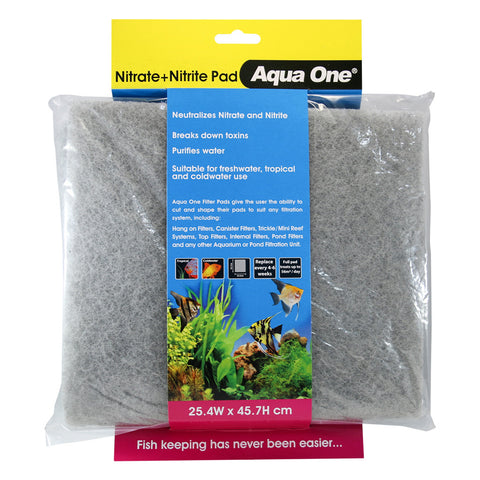 Aqua One Nitrate & Nitrite Pad Replacement Filter Media