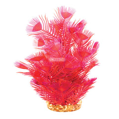 Aqua One Plastic Plant Red Parrot Feather Large