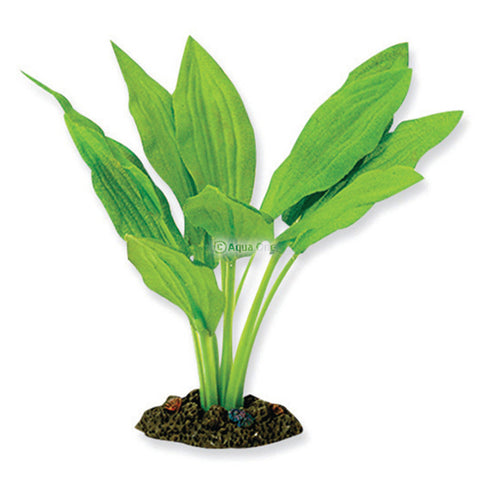 Aqua One Silk Plant Amazon Broad Leaf Extra Large
