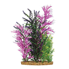Aqua One Vibrance Artificial Plant Mix Green/Pink Mix XXL