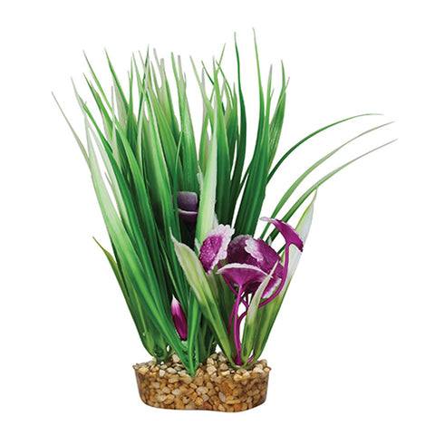 Aqua One Vibrance Green Rush Artificial Plant S-M