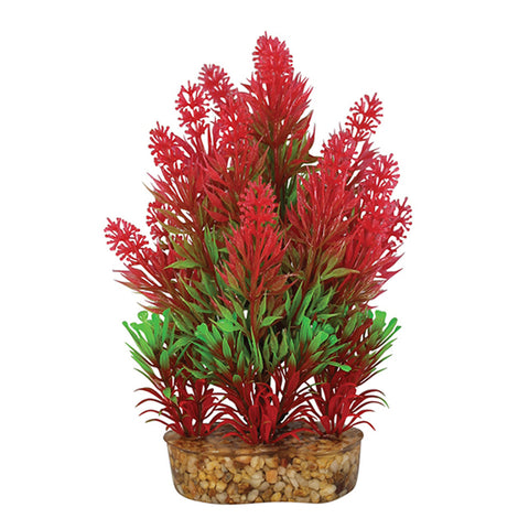 Aqua One Vibrance Red Rotala Artificial Plant S-M