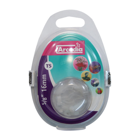 Arcadia T5 Plastic Spring Clips 16mm