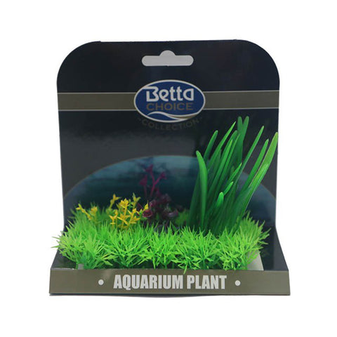 Betta Choice Medium Plant Mat Green & Purple PP387