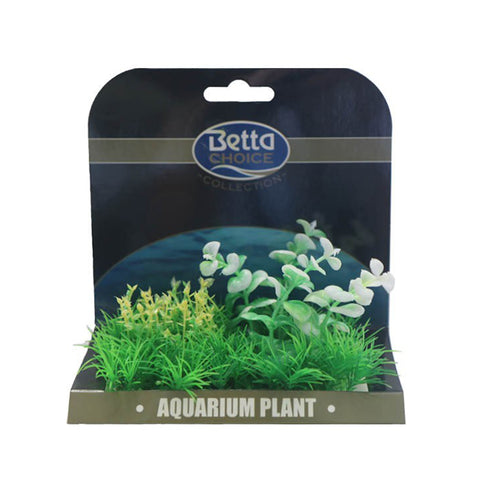 Betta Choice Medium Plant Mat Green & White PP389