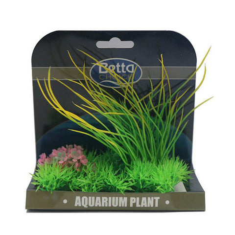 Betta Choice Medium Plant Mat Green, Yellow & Pink PP386