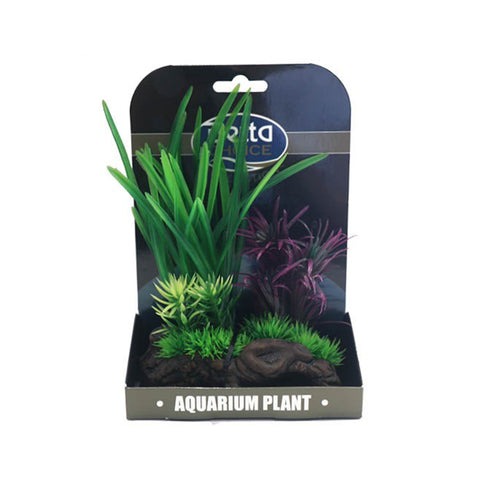 Betta Choice Mini Air Garden Green & Purple PP374