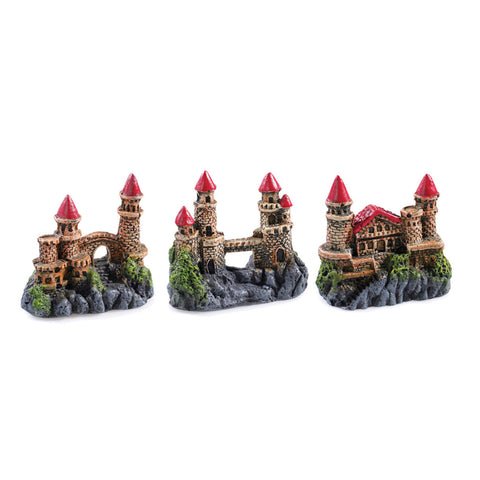 Selection of Mini Castles by Classic Aquatics