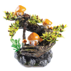 Classic Aquatics Mushroom Tree Aquarium Ornament