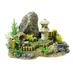 Classic Aquatics Zen Garden with Plants