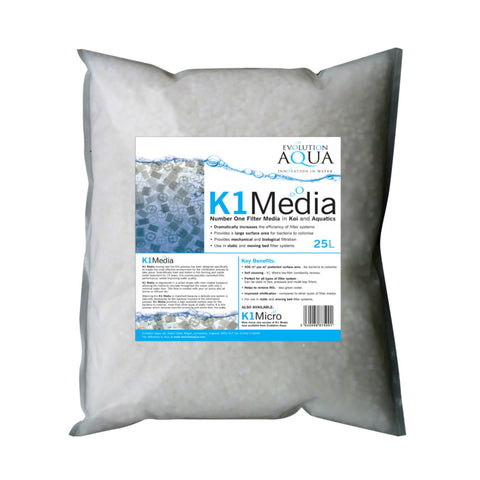 Evolution Aqua K1 Filter Media 25 Litres