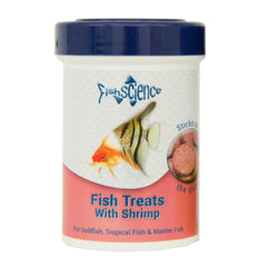 Fish Science Fish Treats with Shrimp