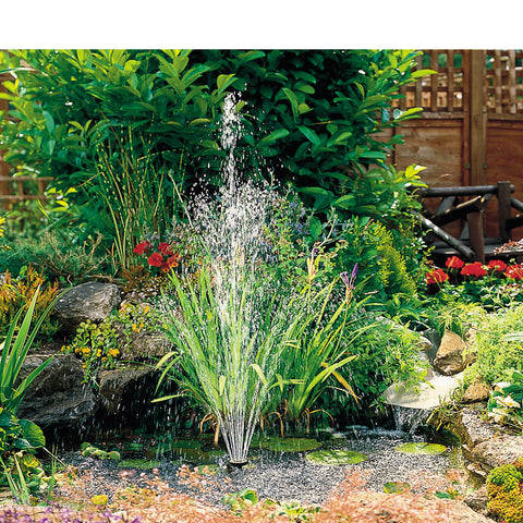 Hozelock Cascade Fountain or Water Feature Pump Medium 1500L/H in action
