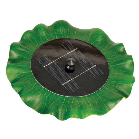 Hozelock Solar Floating Lily Fountain
