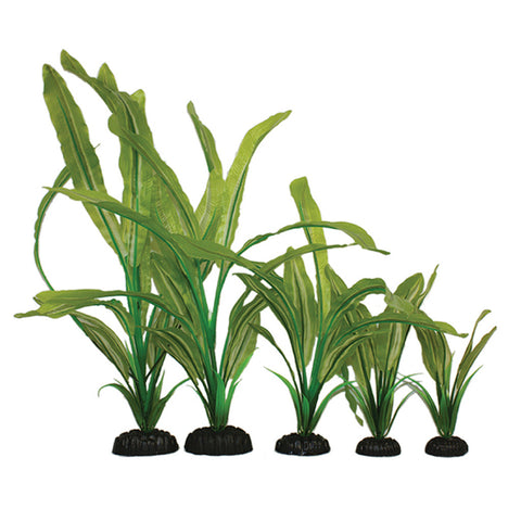 Hugo Kamishi Zen Garden Long Leaf Artificial Silk Plant