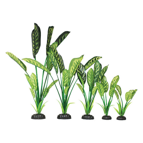 Hugo Kamishi Zen Garden Saggitaria Green/Yellow Artificial Silk Plant